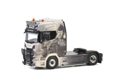 Transports Lampe SCANIA S HIGHLINE CS20H 4×2 , Van WSI Models