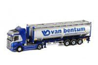 Van Bentum Scania HIGHLINE- Bulkcontainer , Van WSI Models