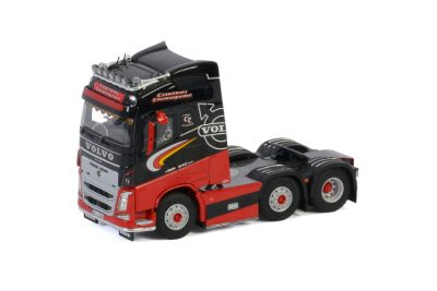 Carlinn Transport VOLVO FH4 GLOBETROTTER 6X2 TWIN STEER , Van WSI Models