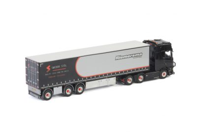 Riemersma SCANIA S HIGHLINE | CS20H 6X2 TAG AXLE BOX TRAILER – 3 AXLE , Van WSI Models