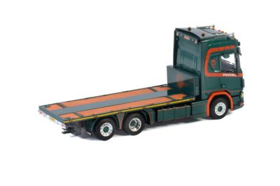 Postma SCANIA R HIGHLINE | CR20H 6X2 TAG AXLE RIGED FLAT BED TRUCK , Van WSI Models
