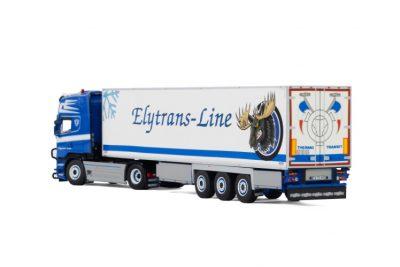 Elytrans-Line SCANIA STREAMLINE TOPLINE 4×2 REEFER TRAILER – 3 AXLE , Van WSI Models