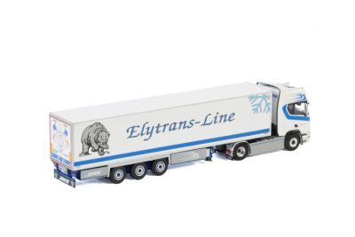 Elytrans-Line SCANIA R HIGHLINE | CR20H 4X2 REEFER TRAILER – 3 AXLE , Van WSI Models