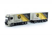 Tekno Scania Motorwagen met aanhanger Dijkstra Plastics