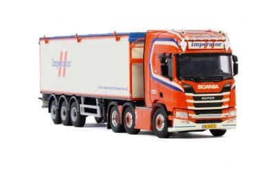 Delta Fresh BV SCANIA R HIGHLINE   CR20H 4X2 BANDLOSSER KOLIBRI , Van WSI Models