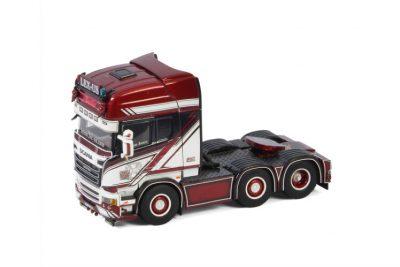 """LEX-US SCANIA STREAMLINE TOPLINE 6X2 TWIN STEER """"German Supertrucks"""" , Van WSI Models"""