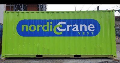 Nordic Crane; 20 FT CONTAINER