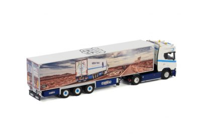 Nordik Line SCANIA R HIGHLINE | CR20H 4X2 REEFER TRAILER – 3 AXLE , Van WSI Models
