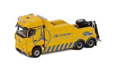 Premium Line MERCEDES-BENZ ACTROS MP5 GIGA SPACE FALKOM – 3 AXLE , Van WSI Models