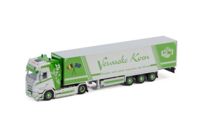 Vervaeke Koen Transport SCANIA S HIGHLINE | CS20H 4×2 REEFER TRAILER , Van WSI Models