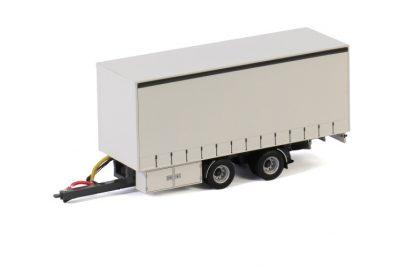 White Line CENTRE-AXLED DRAWBAR   CURTAINSIDE TRAILER – 2 AXLE , Van WSI Models