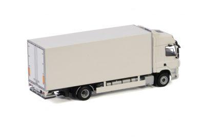 White Line DAF CF SPACE CAB MY2017 4X2 RIGED TRUCK BOX – 2 AXLE , Van WSI Models