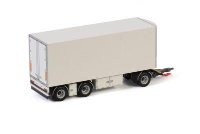 White Line TURNTABLE DRAWBAR | FRIDGE TRAILER – 3 AXLE , Van WSI Models