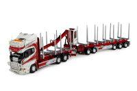 Tekno Scania Woodtrans Boomstammen transport