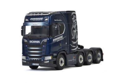 Donohue Heavy Haulage SCANIA S HIGHLINE | CS20H 8X4 , Van WSI Models