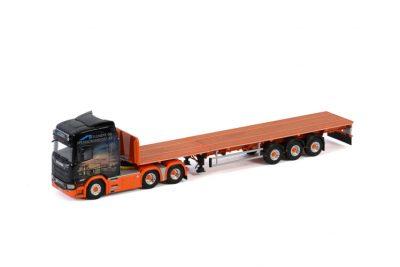 Element og Spesialtransport AS SCANIA R HIGHLINE | CR20H 6×4 FLATBED TRAILER , Van WSI Models