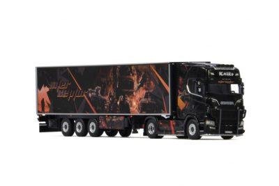 Kaiko Transporte SCANIA S HIGHLINE | CS20H 4X2 REEFER TRAILER , Van WSI Models