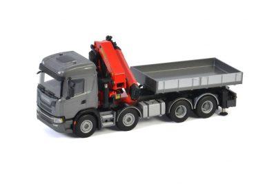 Premium Line SCANIA G NORMAL | CG17N 8X4 PALFINGER PK 78002 SH , Van WSI Models