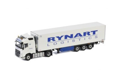 Rynart Trading VOLVO FH4 GLOBETROTTER 4X2 REEFER TRAILER , Van WSI Models