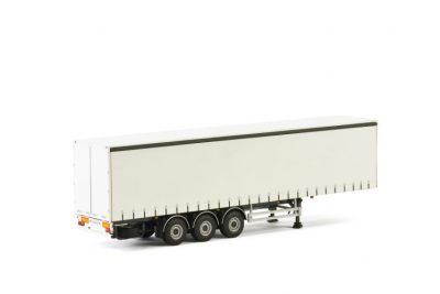 White Line CURTAINSIDE TRAILER – 3 AXLE , Van WSI Models