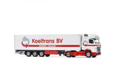 Koeltrans Angeren BV MERCEDES-BENZ ACTROS GIGA SPACE 4X2 REEFER TRAILER – 3 AXLE , Van WSI Models