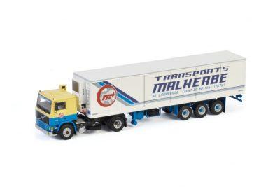 Malherbe VOLVO F12 4X2 REEFER TRAILER | CLASSIC – 3 AXLE , Van WSI Models