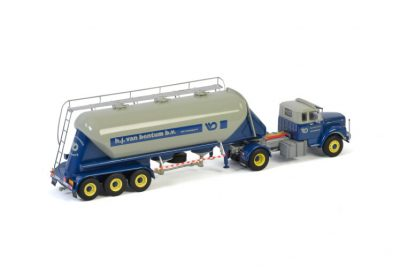 Van Bentum SCANIA L110 TORPEDO 4×2 BULK TRAILER | CUSTOM MADE , Van WSI Models