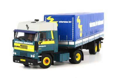 Wiersma DAF 3600 SC 4×2 with Classic curtainside trailer , Van WSI Models