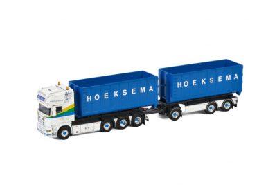 Hoeksema SCANIA STREAMLINE TOPLINE 8X2 TAG AXLE RIGED | TRUCK | DRAWBAR , Van WSI Models