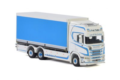 Family Tradition Transport SCANIA R HIGLINE   CR20H 6X2 TAG AXLE RIGED , Van WSI Models