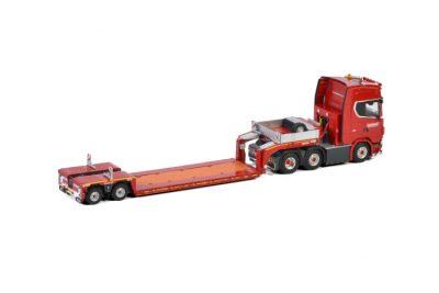 KNT Red Line SCANIA S HIGHLINE | CS20H 6X2 TWINSTEER LOW LOADER | EURO – 2 AXLE , Van WSI Models