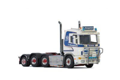 Stangeland SCANIA R4 FLAT ROOF 6X4 ADD ON AXLE , Van WSI Models