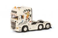 LF Transporte SCANIA R6 TOPLINE 6x2 TWIN STEER , Van WSI Models
