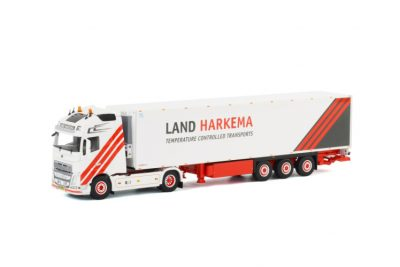 Land Harkema Volvo New FH 4×2 Koeloplegger Thermoking (3 as star) , Van WSI Models