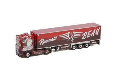Transport Beau (Alaskan Malamute) SCANIA STREAMLINE TOPLINE 4X2 REEFER TRAILER – 3 AXLE , Van WSI Models