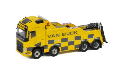 Van Eijck VOLVO FH 4 GLOBETROTTER XL 8X4 FALKOM , Van WSI Models
