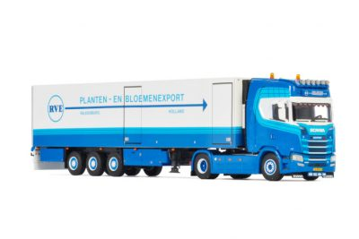 Dirk Noppen SCANIA S HIGHLINE | CS20H 4X2 REEFER TRAILER – 3 AXLE , Van WSI Models