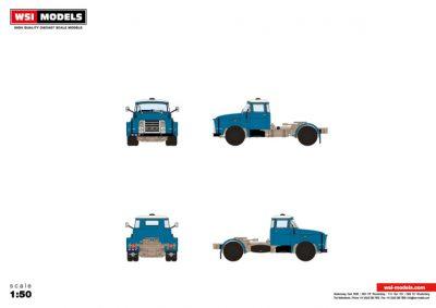 WSI – 04-2128 – Premium Line DAF , DAF 1600 TORPEDO 4X2