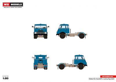 WSI – 04-2127 – Premium Line DAF , DAF 2000 DO 4X2