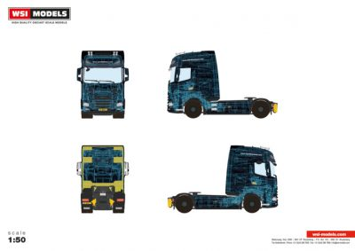 WSI – 04-2129 – Premium Line DAF , DAF XG+ 4X2