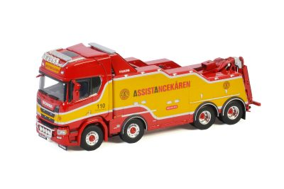 WSI – 01-3287 – Assistancekaren , SCANIA R HIGHLINE | CR20H 8X4 FALKOM