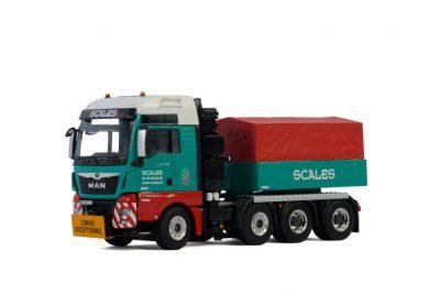 WSI – 01-2845 – Scales , MAN TGX XXL EURO 6C (FACELIFT) 8×4